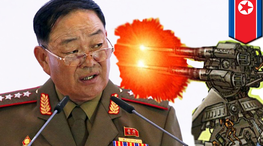 Сон на работе В мае 2014 года Ким Чен Ын устроил очередное заседание, куда естественно пришли вообще все представители аппарата — иначе и быть не могло. Почти все преданно смотрели Чучхе в рот, вот только министр Народных Вооруженных Сил взял и уснул. Конец этого дня был ознаменован еще одним официальным мероприятием: Хен Ен Чхоля торжественно расстреляли из зенитной установки на глазах сотен зрителей.