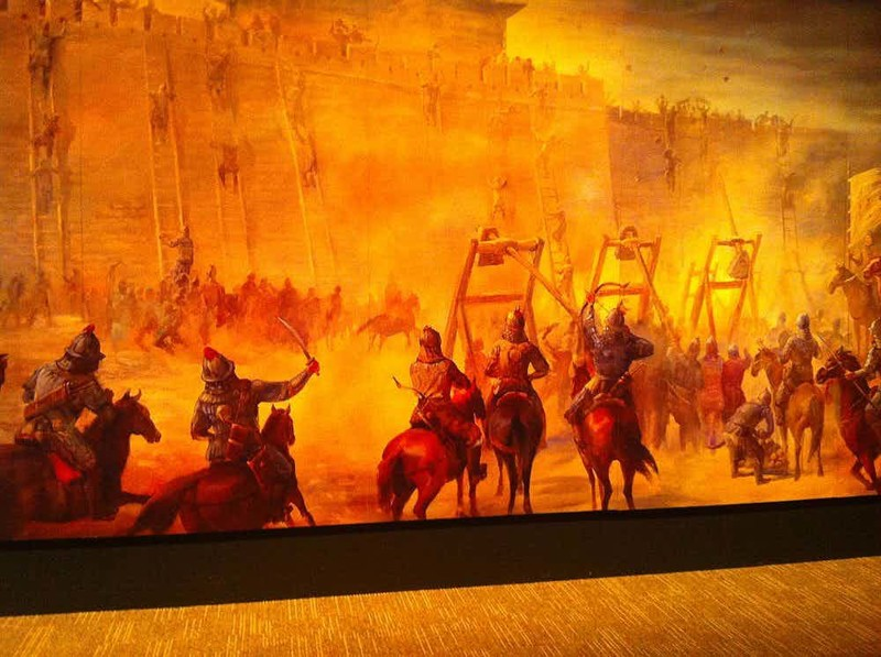 Великая империя При всей своей жестокости Чингисхан был прекрасным и очень мудрым правителем. Под его рукой было основано самое крупное государство в истории человечества: территория Монгольской империи занимала 16,11% всей земной суши.