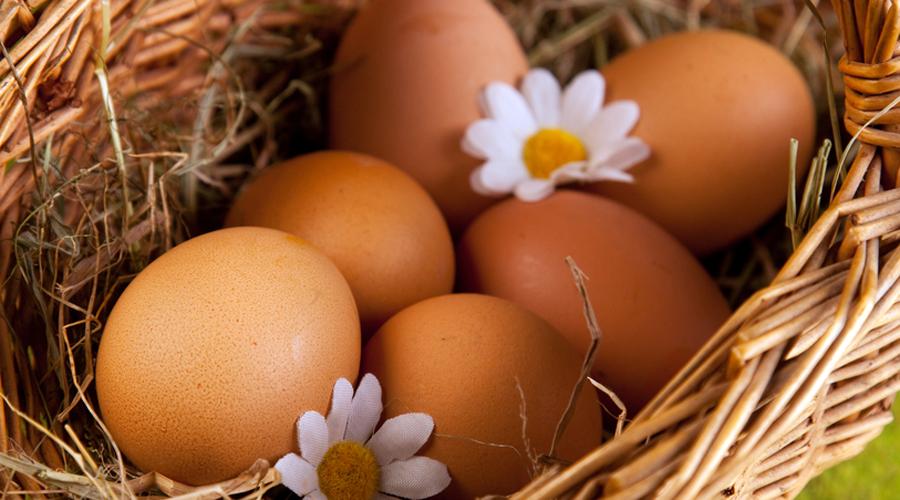 Белковый заряд На одно яйцо приходится примерно 6 граммов белка. Таким образом, тремя яйцами можно заменить кусок мяса. Белок же очень важен для активного человека: потеря веса, контроль гипертонии и здоровье костей завязаны именно на этом элементе.