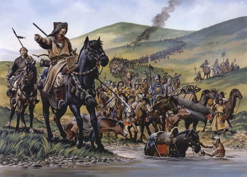 Тактика выжженной земли Ранние походы Чингисхана заканчивались тотальным истреблением всего вражеского племени. Погибали даже женщины и самые маленькие дети: вождь не жалел никого.