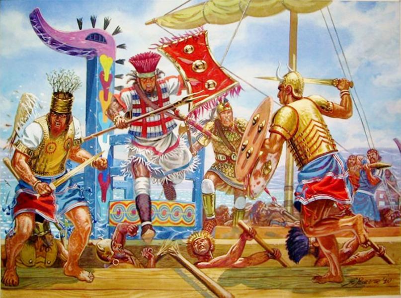 Четкая структура В отличие от многих других народностей того времени, египтяне умели и любили четкую организацию любого дела. Армия Египта в период Среднего царства разделялась на отряды по 2,3 и 10 тысяч воинов. Набор в армию проходил на добровольной основе, что тоже было необычно — все соседи Египта вообще пользовались услугами наемников, которых покупали в нужное время.