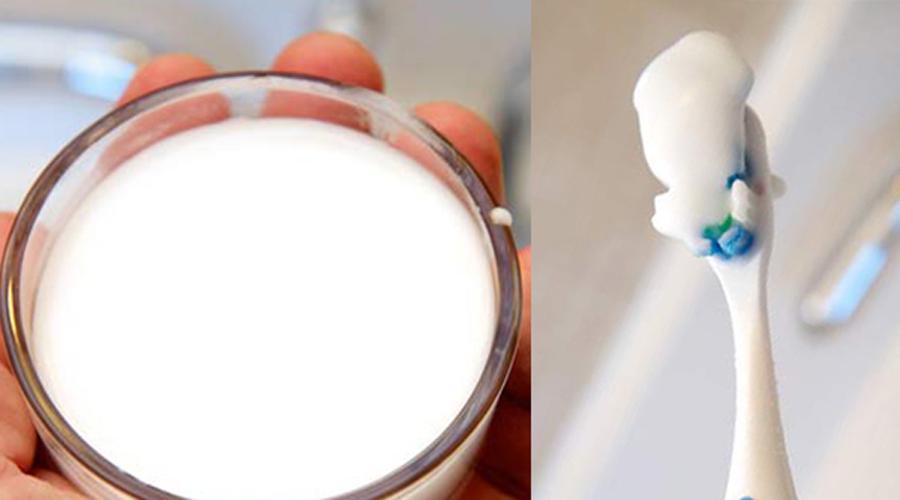 Масло кокоса Большая часть налета на эмали появляется из-за того, что продукты ее просто окрашивают. Смешайте столовую ложку кокосового масла с водой и полощите рот раз в день, вечером. Так вы спасете эмаль от ненужных красок — зачем вам во рту флаг, правильно?