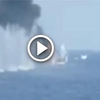 Расстрел сомалийских пиратов с Маршала Шапошникова