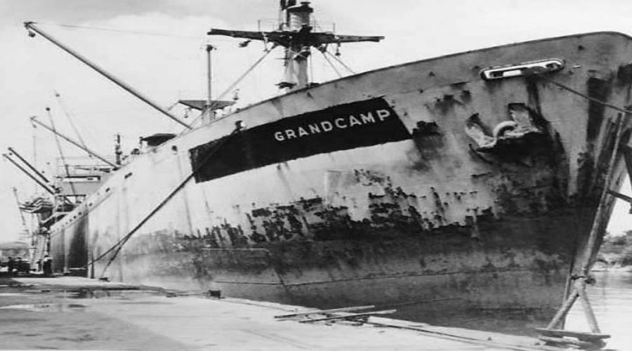 Пароход смерти 12 апреля 1947 года в порт Техас-Сити вошел грузовой пароход «Гранкан». При водоизмещении 10000 тонн пароход имел длину 135 метров иширину до17,6метров. Его трюмы предназначались для перевозки аммиачной селитры — обычного удобрения, которое перевозилось безо всякой там техники безопасности. Жители города еще даже не подозревали, что может сотворить с ними этот далеко не безобидный груз.