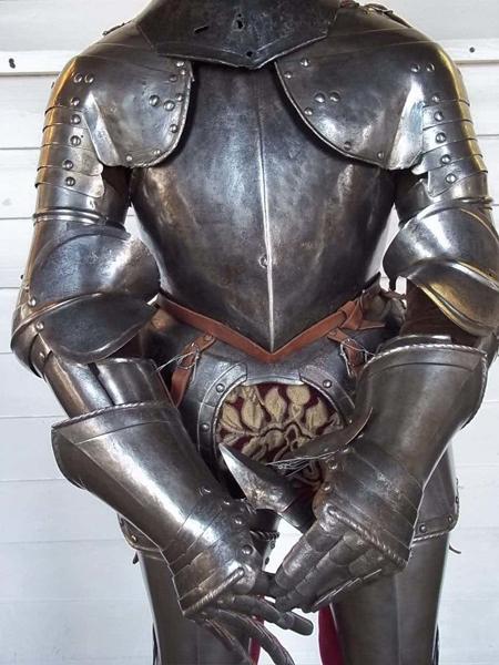 Латы рыцаря И еще один привет из горячей Австралии. Одна из выловленных у побережья акул порадовала океанологов содержанием желудка: хищница умудрилась сожрать рыцарский нагрудник, перчатки и забрало от шлема. Вот только где она их вообще взяла?