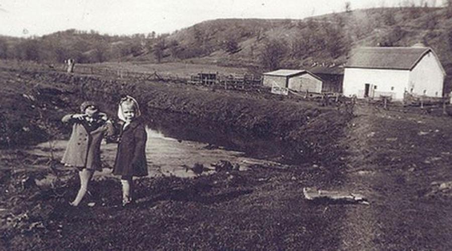 Мясник из Плэйнфилда Эд Гейни родился в бедной семье. Ферма, где мальчик жил с родителями и братом Генри, находилась на отшибе, сюда редко заходили гости. Отец семейства пил по-черному, за что мать его просто ненавидела. В 1940 году алкоголик замерз насмерть и тот, кого позже назовут Мясник из Плэйнфилда, стал главой семьи.