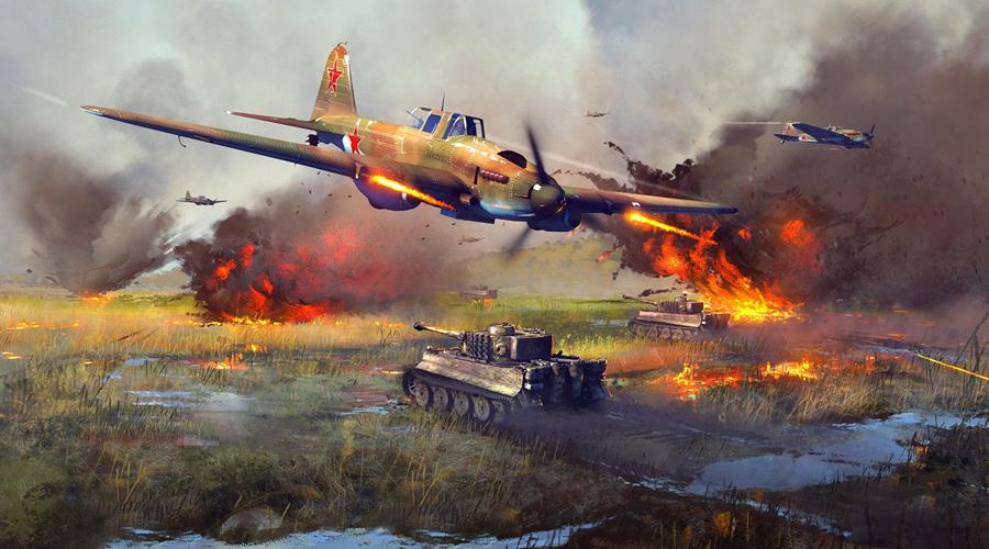 Ил-2 СССРШтурмовик За всю войну Советский Союз выпустил целых 36 000 этих легендарных штурмовиков. Вместо каркаса Ил-2 получил несущий бронекорпус, что делало его очень серьезным противником. Первые варианты истребителя строились одноместными, когда же добавили место для бортстрелка, он стал настоящей головной болью для немецких истребителей.