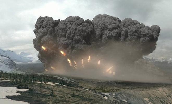 В Италии просыпается супервулкан, который грозит всей Европе (2 фото)