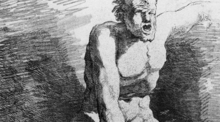 Происхождение циклопов Откуда вообще в культуре сформировались такие странные существа, как циклопы? Древние греки не имели понятия о вымерших древних видах животных. Когда они натыкались на кости, не соотвествующие существующим зверям, фантазия у них включалась на полную. Так обстояло дело с Deinotherium giganteum, останки которого привели греков в полный ужас. Так и родилась легенда о странном одноглазом гиганте.