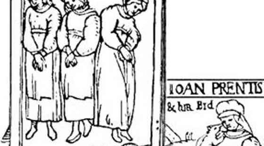 Анна Колдингс Ткачиху Колдингс обвиняли в то, что она специально вызывала шторм, чтобы сгубить корабль королевы Анны, путешествовавшей из Копенгагена в Шотландию. Каравелла и в самом деле чуть не затонула при сильнейшем шторме и была вынуждена остановиться в Норвегии. Анну, прозванную «Мать Дьявола», арестовали по обвинению мэра Кронборга, решившего выслужиться перед королем. На пытках Анна не только призналась во всем, но и назвала еще пять имен своих сообщниц — жену мэра в том числе. Ранним весенним утром всех девушек сожгли прямо у стен Кронборга.
