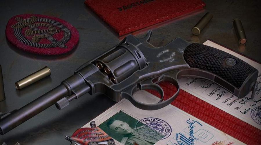 Вооружение Бойцы СМЕРШ редко носили с собой что-то серьезнее пистолета. В конце концов, офицер с автоматом уже вызывает некоторое удивление и внимание, совершенно не требующееся диверсанту. Оперативники предпочитали небольшие пистолеты и револьверы: популярностью пользовались офицерские «Наганы» образца 1895 года, позже в моду вошли ТТ, Beretta M-34, Walter PPK и Mauser HSc.