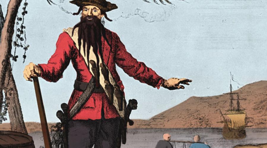 Сокровище Черной Бороды Эдвард Тич, самый известный пират в истории, начинал карьеру британским капером во время Войны за испанское наследство. С 1716 по 1718 год Черная Борода и его флагман с 40 орудиями, «Месть Королевы Анны», грабил Вест-Индию и Атлантическое побережье Северной Америки. Украденные сокровища хитрый пират закапывал на небольших островках от Вирджинии в Чесапикском заливе до Карибского моря и Каймановых островов. Некоторые части были найдены, другие же ждут своего часа.