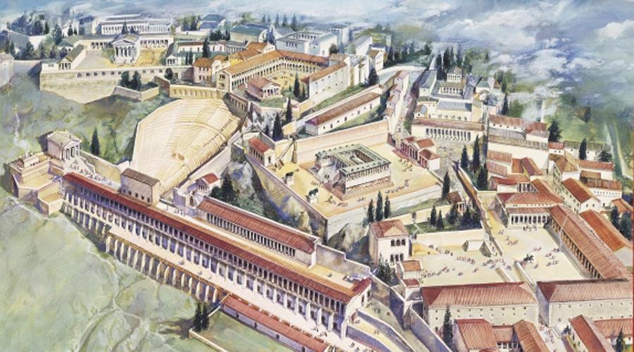 Библиотека Пергама Библиотека Пергама была построена в 3 веке до н.э. династией Атталидов. По словам древнего летописца Плиния Старшего, Библиотека Пергама насчитывала более 200 000 свитков и конкурировала со знаменитой Александрийской библиотекой.