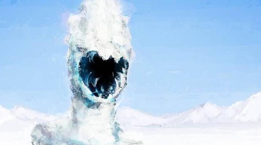 Жуткая тварь На глубине в 342 метра американская группа исследователей наткнулась на пугающее (но, по счастью, мертвое) создание, которое было практически невозможно идентифицировать. Выдвигающаяся пасть, костистый гребень и очень странное строение всего тела.
