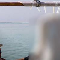 Во что превратится одежда за два года в глубине Мертвого моря