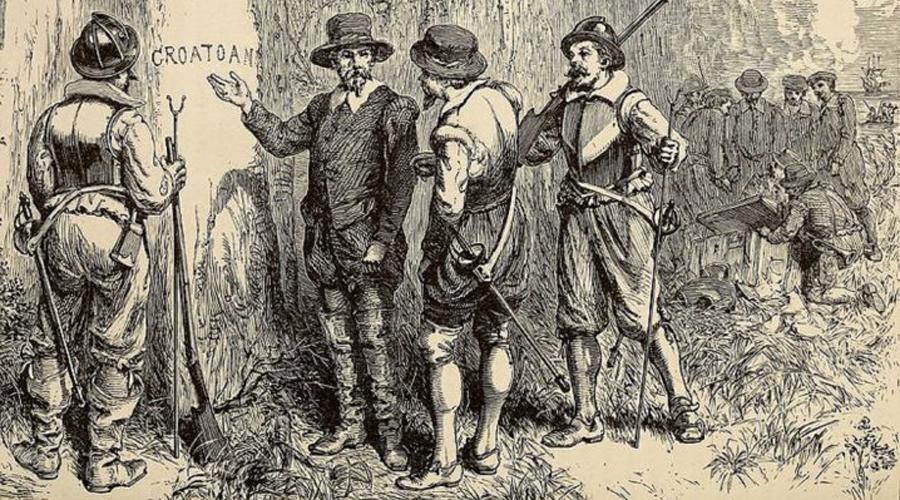 Таинственное исчезновение Но война Англии с Испанией помешала планам губернатора. Уайт вернулся только через три года и с ужасом обнаружил, что колонисты просто растворились в воздухе. Никаких следов борьбы не было, зато стены форта оказались расписаны странным словом. Честно говоря, одно прочтение его вызывает мурашки по коже — CROATOAN.