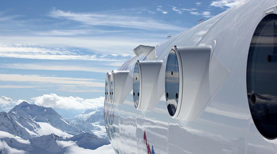 Убежище альпинистов На самой границе Италии и Швейцарии, у склона знаменитой горы Монблан расположено убежище для альпинистов Джервазатти. Сооружение висит над пропастью в 2143 метра.