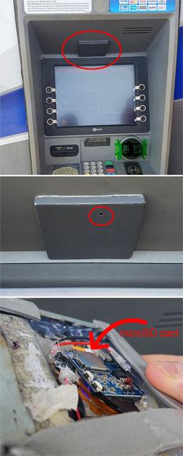 Фальшивый друг Искусственные банкоматы принадлежат обычно уже крупным преступным группировкам. В больших городах фальшивых устройств почти не бывает, но на тех же курортах опасность вполне реальна. Банкомат выглядит точно так же, как и реальный, но на все запросы пользователя выводит надпись «денег нет» и просто считывает все данные с магнитной ленты.