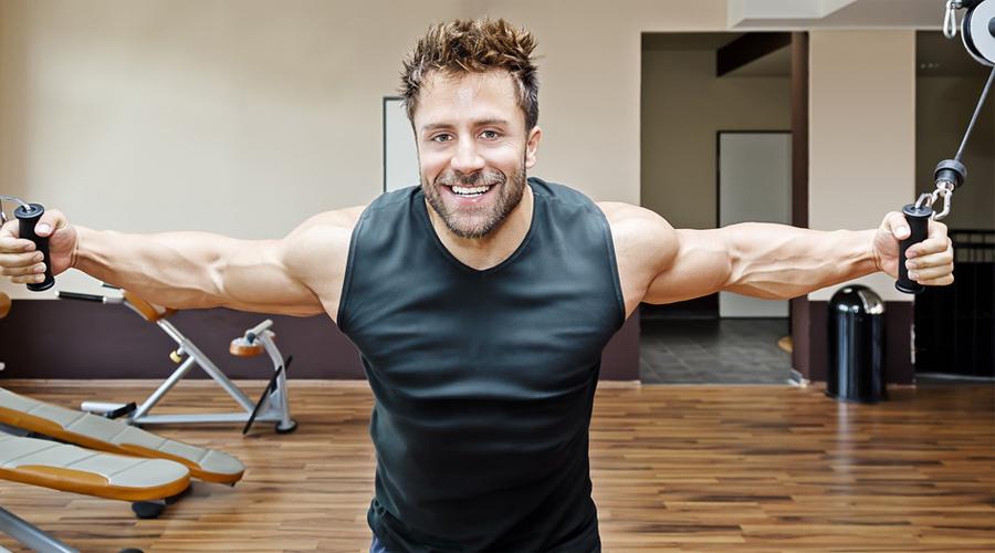 Новые упражнения Не пытайтесь брать больших весов при выполнении нового для вас упражнения. Работайте с минимальной нагрузкой до тех пор, пока не усвоите технику. Это действительно важно: во-первых, таким образом риск травмы снизится до минимума, а во-вторых, вы приучите организм нагружать нужную группу мышц, что значительно повысит продуктивность тренинга.