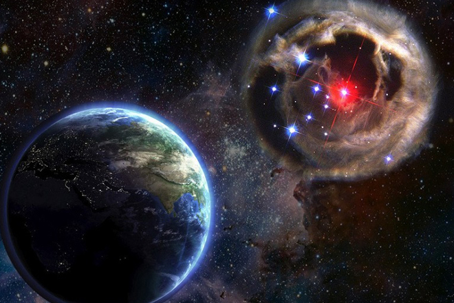 Огромная планета уничтожит Землю через месяц: данные NASA (3 фото)