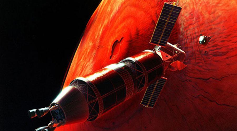 Колонизация Марса Космическая гонка СССР и США вошла в историю: мы запустили в космос первого человека, зато американцы вроде как сумели попасть на Луну. Но мало кто знаком с другим секретным проектом Советского Союза — колонизацией Марса. Причем эти разработки ОКБ-1 не остались только на бумаге. На орбите лунного посадочного модуля были проведены успешные испытания специального ракетного блока, способного разогнать межпланетный корабль до нужной скорости. Однако правительство страны решило сосредоточиться на лунной программе, и полет на Марс отложили до лучших времен.