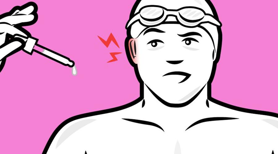 Здоровые уши Врачи из клиники Майо рекомендуют простой рецепт для защиты ушей от инфекций. Одна часть белого уксуса на одну часть спирта, по чайной ложке в каждое ухо (не забудьте вылить ее потом!): такая настойка будет особенно полезна пловцам, рискующим подхватить в бассейне грибок или другую инфекцию.