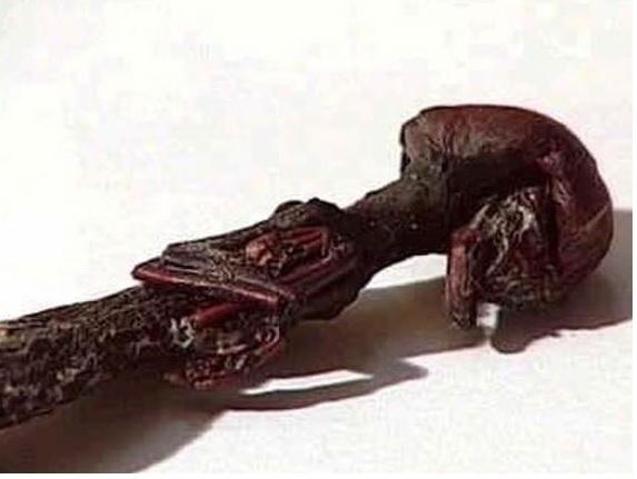 Чилийский гуманоид В 2002 году семья Каррено, отдыхая на природе на юге Чили, нашла в кустах крошечное похожее на человека существо длиной 7 см, с розовой кожей, большой головой и глазами, которые оно то открывало, то надолго закрывало. Спустя восемь дней новый любимец семьи скончался и быстро мумифицировался. Уфологи были в восторге и выдвигали одну версию происхождения малыша-гуманоида за другой, пока заявление ветеринара, профессора Артуро Манна, не расставило точки над i. Находка имеет земное происхождение: это маленькое млекопитающее с шерстью, отстоящим в бок большим пальцем, способное лазить по деревьям нелетающее. А именно? С большой долей вероятности, это маленькое сумчатое – соневидный опоссум, в просторечии называемый «монито», то есть «обезьянка». Правда, без хвоста и с увеличенной головой. Живые монито похожи на маленьких крыс.