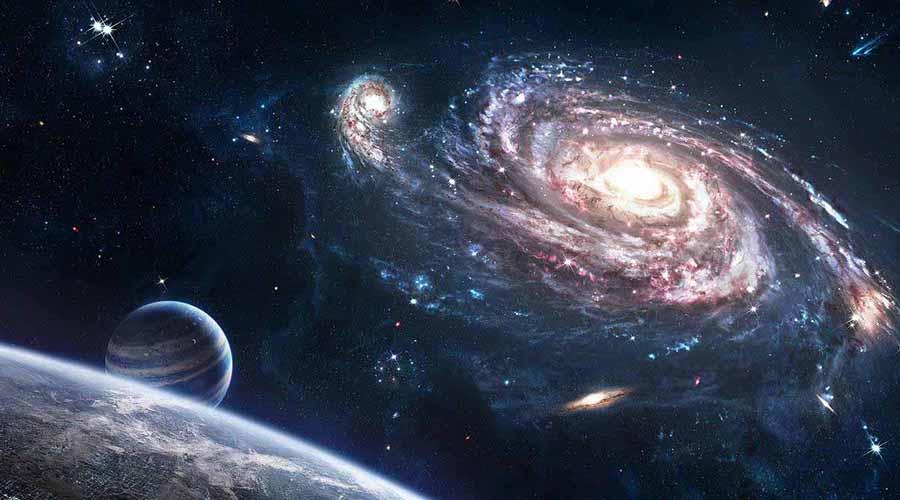Пугающие расчеты Как только физики поняли, что все движется, они принялись расчитывать массу конечного источника гравитации. По самым первым прикидкам суммарная масса этого объекта превышает таковую у нескольких десятков тысяч крупных галактик.