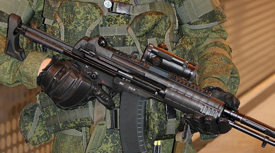 Победитель Модель А-545 создавали специально для конкурса на новый общевойсковой автомат. В 2014 году он прекрасно показал себя на полевых испытаниях и стал первым претендентом на автомат для экипировки солдата будущего — «Ратника». Интересно, что основным конкурентом выступал АК-12, но А-545 показал лучшую кучность стрельбы. Сейчас на вооружение приняты оба автомата.