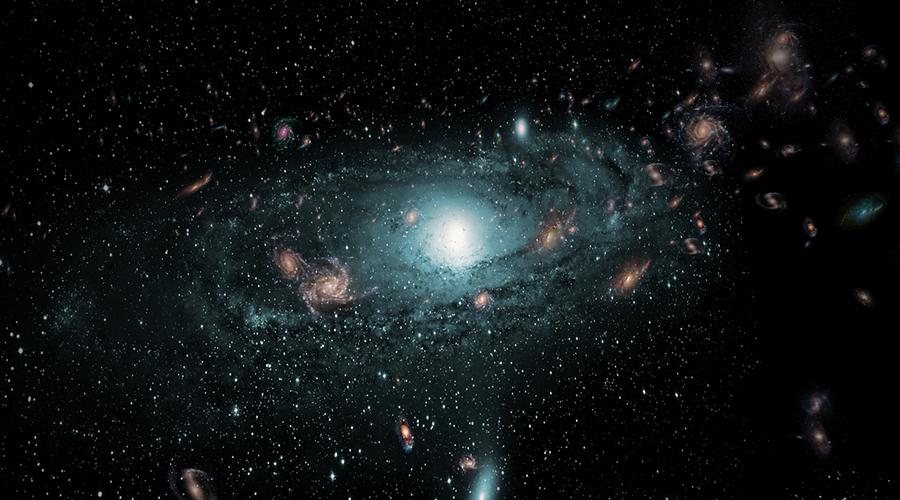 Куда мы летим Млечный Путь в компании галактик созвездия Девы и сверхскопления галактик созвездия Волосы Вероники, да еще необозримого количества еще не объясненного космического вещества летит со страшной скоростью в 600 километров в секунду. Нас притягивает невероятный, непредставимый источник гравитации. Что будет, когда мы все наконец туда долетим? Пока неясно.
