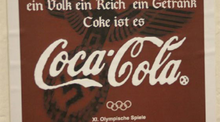 Фанта Кока-Колу в Третьем Рейхе не любили настолько, что полностью запретили ввоз ингредиентов напитка в страну. Однако, завод «Кока-Кола» остался и ему нужно было как-то работать. Директор предприятия придумал совершенно новый напиток и назвал его «Фанта» — технология изготовления сегодня кардинально изменилась, но бренд остался прежним.