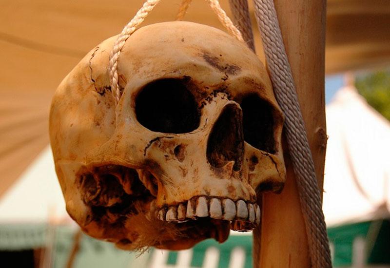 Тибурон, Калифорнийский залив – Золото вредит здоровью Крупнейший из принадлежащих Мексике островов у берегов Калифорнии представляет собой холмистую пустыню, населенную ядовитыми змеями и индейцами племени сери. Со времен открытия острова испанцами считалось, что он также сказочно богат золотом и драгоценными камнями, и это привлекало американцев. До нас в деталях дошла история аризонского золотоискателя Тома Гринделла, который весной 1903 года с небольшой командой отправился на Тибурон и обещал вернуться осенью. Этого не произошло, и следующей весной на поиски отправился брат Тома. Индейцы попрятались, оставив на своих капищах нанизанные на палки людские руки. По тесемке от рюкзака, сохранившей инициалы владельца, определили, что жертвами были не Том и его люди. Останки Тома нашли через несколько лет, идентифицировав их по скомканным обрывкам писем. Спустя полвека на остров отправилась научная экспедиция с целью выяснить, кто же такие индейцы сери и насколько они опасны. Ученые встретили вежливых дружелюбных туземцев, охотно познакомивших их со своим образом жизни. «Да, раньше бывало такое, что людей поджаривали и съедали, но, признаться, нам больше нравился запах, чем вкус». Теперь с этим покончено: мексиканское правительство сказало, что если на острове загадочным образом пропадет еще один приезжий, все племя будет уничтожено.