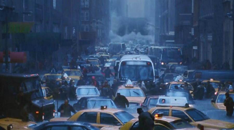 Послезавтра Режиссер фильма решил показать, что может сделать с нашим миром глобальное потепление. Экологическая катастрофа уничтожает все живое на планете, а главный герой отправляется в Нью-Йорк, надеясь найти своего сына.