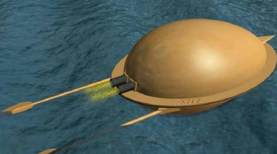 Аль-Раммах Сирийский ученый Хасан аль-Раммах разработал первый в мире прототип торпеды еще в XIII веке. Это был металлический сосуд с зарядом из пороха и селитры. Прицеливались торпедой вручную, а к цели ее доставляли две пороховые ракеты, установленные в задней части.