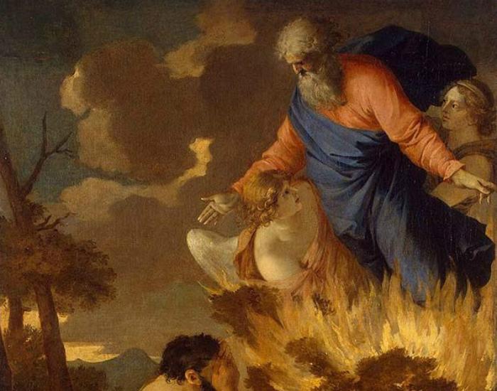 Беседа Моисея с Богом Профессор психологии Еврейского университета в Иерусалиме предположил, что Моисей нашел в пустыне галлюциногенное растение Аяуяска и съел его. Именно это растение до сих пор используют шаманы Амазонки для того, чтобы говорить со своими богами.