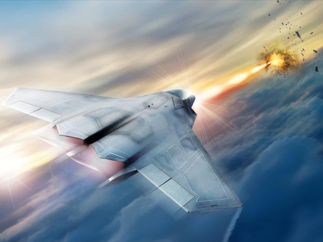 Истребители с боевым лазером поступят на вооружение США (2 фото)