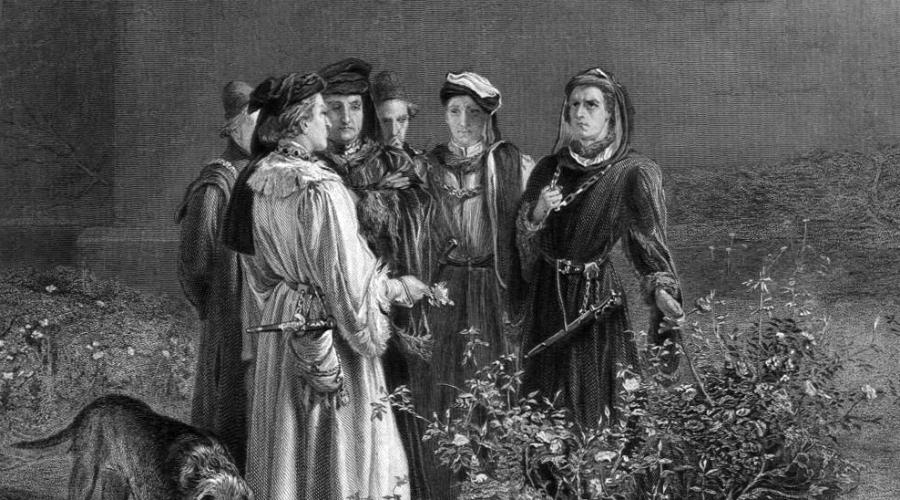 Секретный отряд Ланкастеров Война Алой и Белой розы, война Ланкастеров и Йорков, бушевала с 1455 по 1485 годы. Развитие секретных служб в то время получило огромный толчок — информация о планах противника была необходима обеим сторонам. Генрих VII, используя полученный на войне опыт, организовал собственную секретную организацию, разделенную на четыре ветви. Секретные шпионы занимались разведкой за рубежом Англии, информаторы работали в низших слоях общества, профессиональные разведчики отряжались для слежки за особо важными персонами, а особая мобильная группа (прикрытием были профессии священника, писаря или лекаря) постоянно перемещалась из города в город, контролируя общественное отношение к Тюдорам.