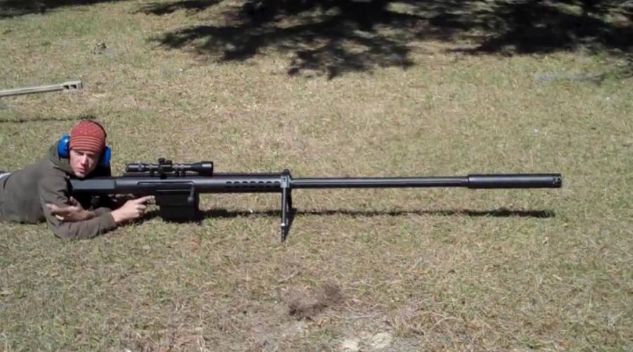 Anzio Mag-Fed Rifle Калибр: 20 мм Монстр, способный уничтожать бронированные цели на расстоянии в 2750 метров. Винтовка весит более 17 килограммов — как вы сами понимаете, не самая мобильная штуковина на свете. Патроны разработаны специально под Anzio Mag-Fed Rifle, имеют полимерную оболочку и вольфрамовый сердечник.