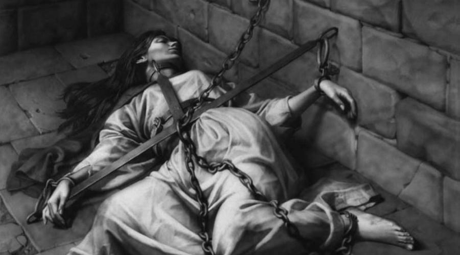 Элис Кителер Все четыре мужа Элис умирали, оставив ей свое состояние, что не могло не навлечь на девушку определенные подозрения. В 1324 году Ирландия была сравнительно безопасным местом для колдунов и ведьм, инквизиция там не имела большой силы. Тем не менее, специально для Кителер была создана особая комиссия, которая и постановила неоспоримую связь ведьмы с дьявольскими силами. Говорят, что прямо на процессе женщина расхохоталась инквизиторам в лицо, а затем прыгнула на кота и вылетела в окно.