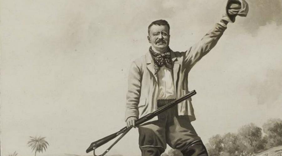 Винтовка Теодора Рузвельта Мечтой любого коллекционера была и эта винтовка от Gun Comp. принадлежавшая самому Теодору Рузвельту. Президент серьезно увлекался охотой и сразу после окончания своего срока у руля власти отправился в африканскую саванну, прихватив с собой именно это ружье. За несколько месяцев непрерывной охоты Тедди добыл несколько тысяч животных! В 2010 году двустволку продали на аукционе за 860 тысяч долларов.
