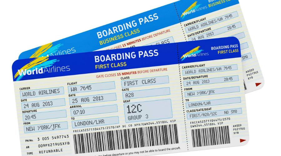 Посадочный талон Распространенная привычка хвастаться будущим путешествием публикацией посадочных талонов очень опасна. Вы своими руками отдаете персональные данные любому, кто захочет ими воспользоваться. На основании номера бронирования злоумышленники будут знать, когда именно вас не будет дома. Преступники могут узнать номер вашего телефона и даже номер паспорта, вплотную подобравшись к данным кредитных и дебетовых карт.