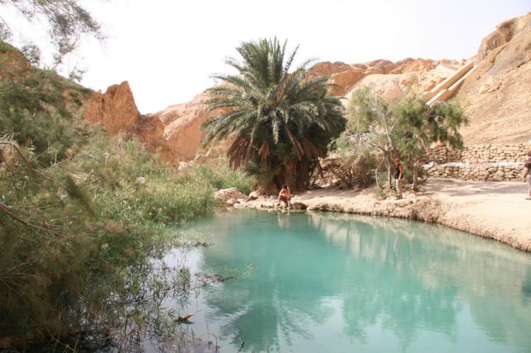 Озеро в пустыне В 2014 году, примерно в 25 километрах от города Гафса, буквально из ниоткуда появилось глубокое озеро. Чиновники из Регионального управления гражданской защиты объясняют это явление сейсмической активностью, вот только никаких землетрясений в этой местности не было уже сотни лет.