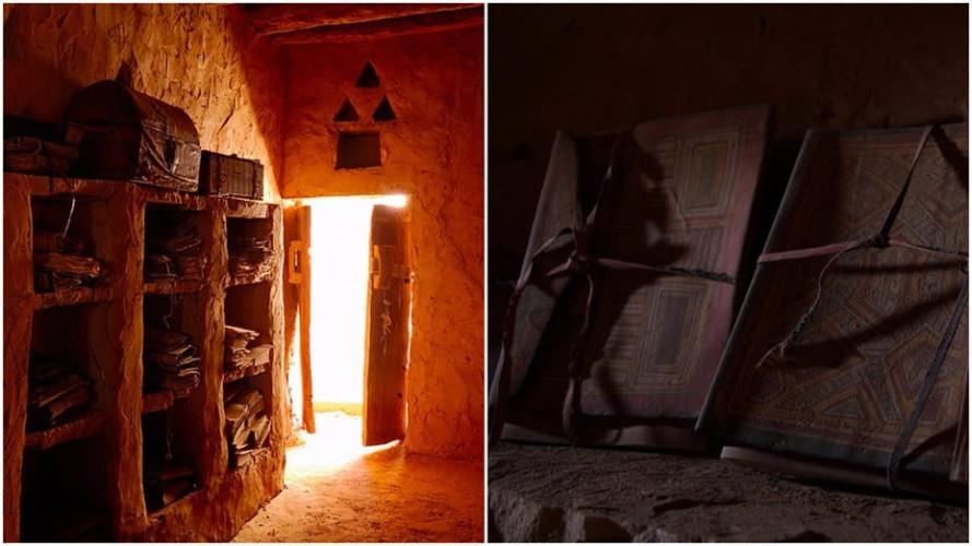 Потерянные библиотеки Чингуетти Пустыня Сахары, вероятно, будет последним местом на земле, где вы ожидаете найти древнюю библиотеку. Однако, в Западной Африке расположен древний город Чингуетти, известный современной науке как «Город библиотек». Когда-то Чингуетти был огромным мегаполисом и перевалочным пунктом для паломников по дороге в Мекку. Археологи раскопали уже 7 библиотек с бесценными книгами IX века.