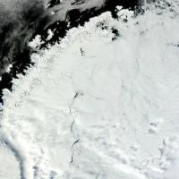 Антарктическая бездна в центре материка появилась мгновенно и ученые не понимают причин