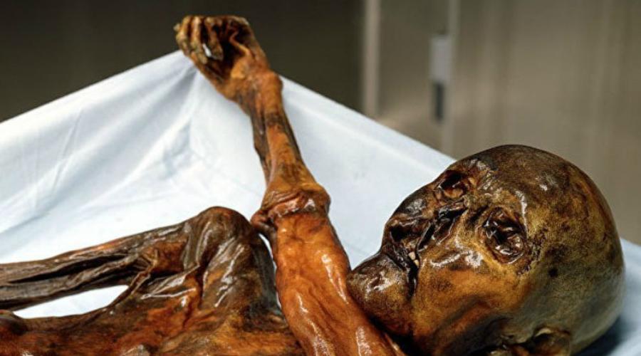 Симилаунский человек Ученые прозвали симилаунского человека Эци. Его обнаружили туристы в сентябре 1991 года и передали останки музею. Возраст Эци — 5300 лет, это старейшая мумия во всей Европе.
