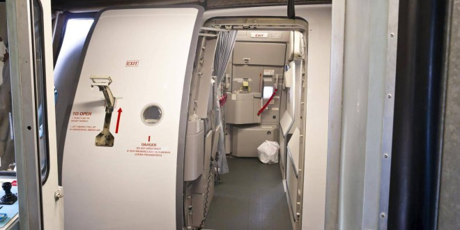 Что случится, если открыть дверь в самолете прямо в полете