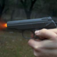 Стреляем в гранату из пистолета