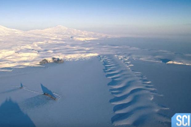Загадочное пятно в Антарктиде появилось совершенно внезапно и поставило ученых в тупик