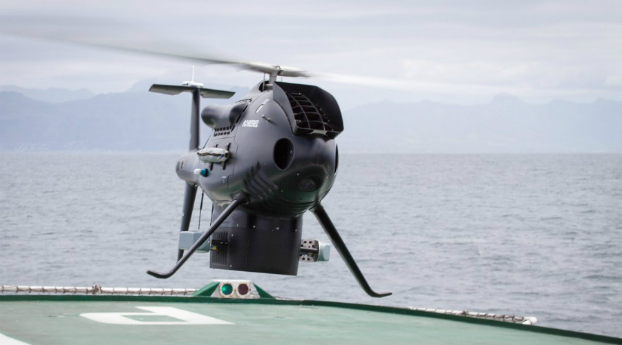 S-100 Camcopter Австралийская компания Schiebel представила свой беспилотный вертолет еще в 2005 году, но до настоящего момента он вовсе не потерял актуальность. S-100 Camcopter умеет отслеживать большие группы противника на недоступном для обнаружения расстоянии и чаще всего используется как разведчик. Впрочем, «зубы» у этого винтового малыша тоже имеются.