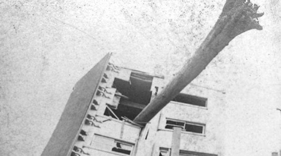 Фабрика «Пембертон Милл» США, 10 января 1860 Разбирательство по этому делу шло очень долго. Семилетнее здание фабрики рухнуло в один момент, похоронив под обломками 145 человек. В конце концов выяснилось, что архитекторы по ошибке указали в плане подпорки из дешевой стали, которые за 7 лет изъела коррозия.